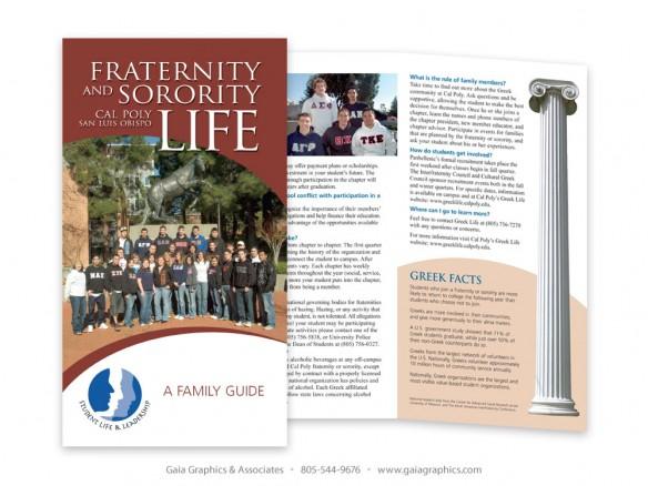 CAL POLY STATE UNIVERSITY ~ Greek Life Brochure ~ 14
