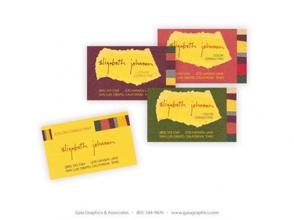 ELIZABETH JOHNSON ~ Business Cards