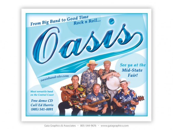 OASIS BAND ~ California Mid-State Fair