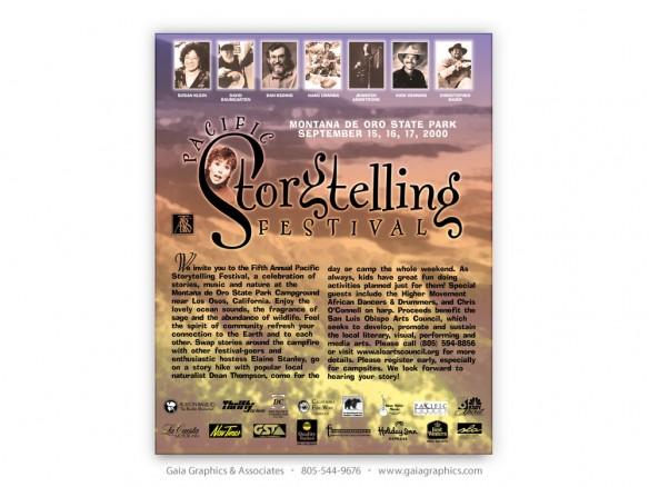PACIFIC STORYTELLING FESTIVAL 2000 ~ Montaña de Oro State Park