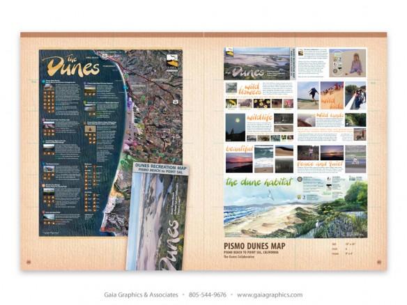 PISMO DUNES MAP ~ Dunes Collaborative, Guadalupe Dunes, California (pp 50-51)