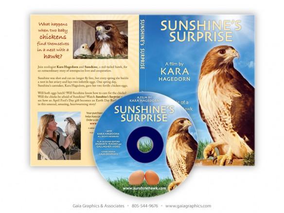 KARA & SUNSHINE ~ Sunshine's Surprise CD and CD case