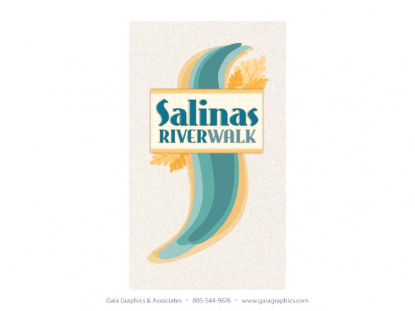 The Salinas RiverWalk is a series of disconnected trails along the Salinas River, for which Gaia Graphics developed wayfinding and interpretive panels.